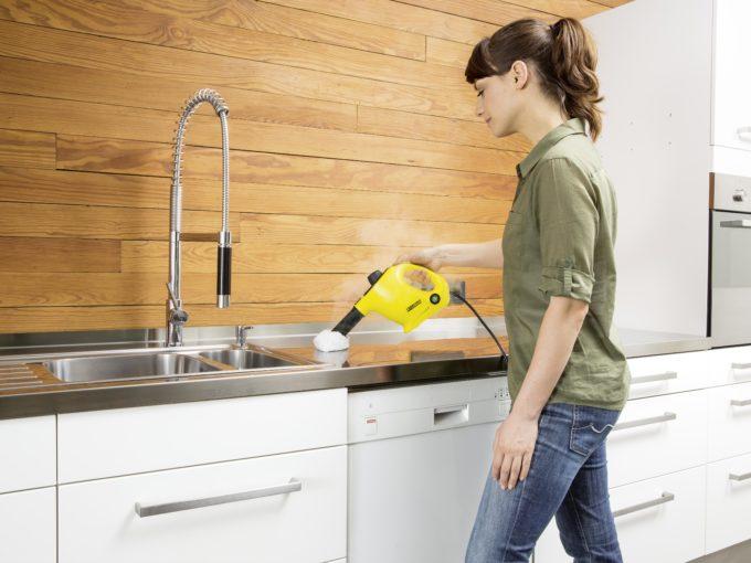 Parní čistič - čištění parou