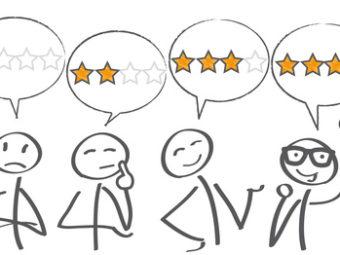 Bewertung, Kundenbewertung, Rating; best; Rangfolge; Sprechblasen; Bewertungen; Qualität, Rezensionen; zufrieden, unzufrieden, empfehlen; empfehlung; empfohlen; Geschäft; Sterne; e-business; Kundenrezensionen; freigestellt; freisteller; internet; isoliert; kauf; konsument; kunde; kundenbewertung; kundenempfehlung; kundenservice; kundenurteil; leistung; marketing; online; onlineshop; service; shop; symbol; urteil; vektor; verbraucher; verkauf; vertrauen; web; werbung; zufriedenheit