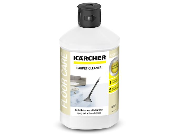 Na suché i mokré čištění koberců existují speciální přípravky.