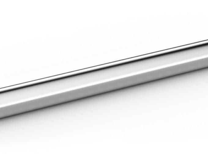 Sací trubka sada, ušlechtilá ocel NW40 550 mm