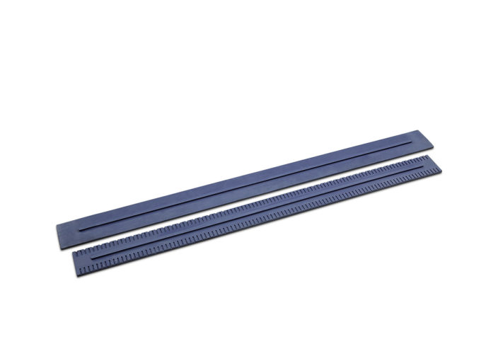 Sací stěrky, standardní, rýhované, 890 mm