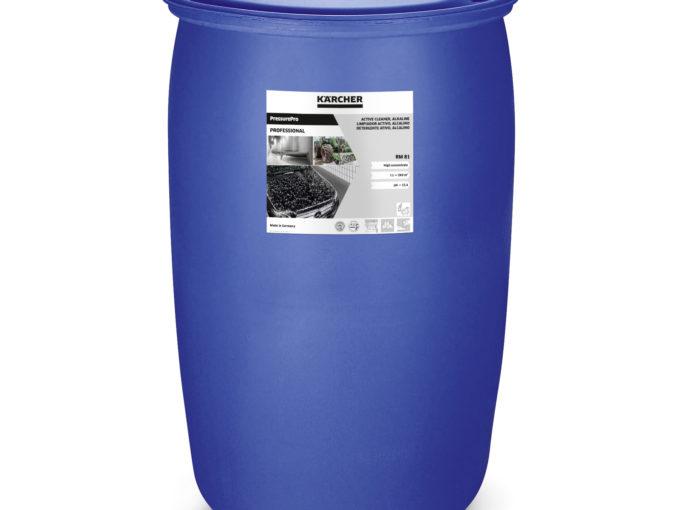 Aktivní čistič RM 81, alkalický, bez NTA