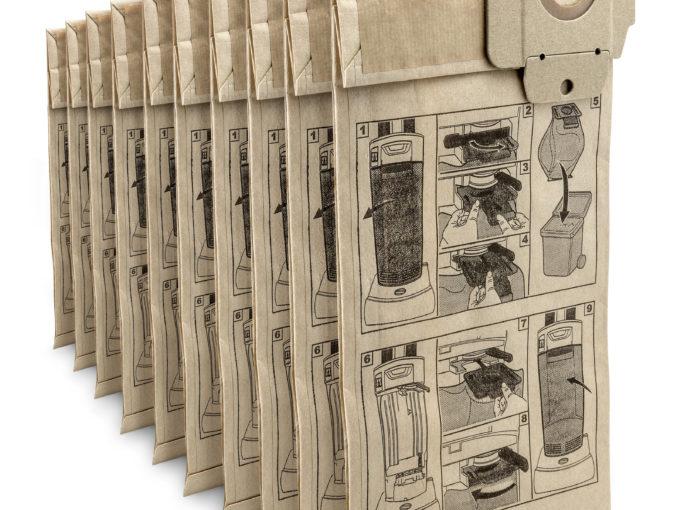 Papírové filtrační sáčky pro CV vysavače