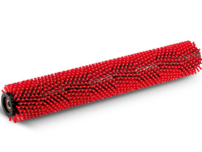Válcový kartáč, střední, červený, 800 mm