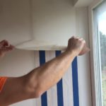 odstraňování tapet parním čističem Kärcher